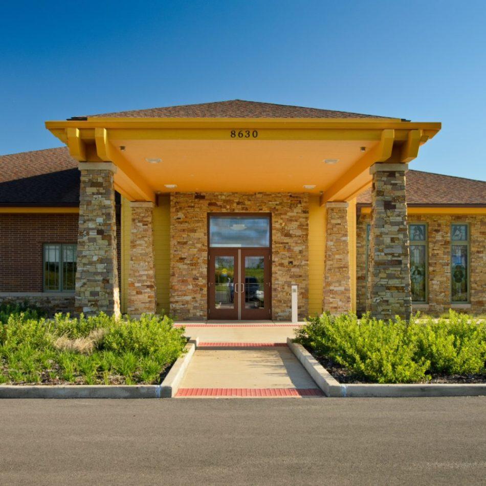 Hospice Home exterior