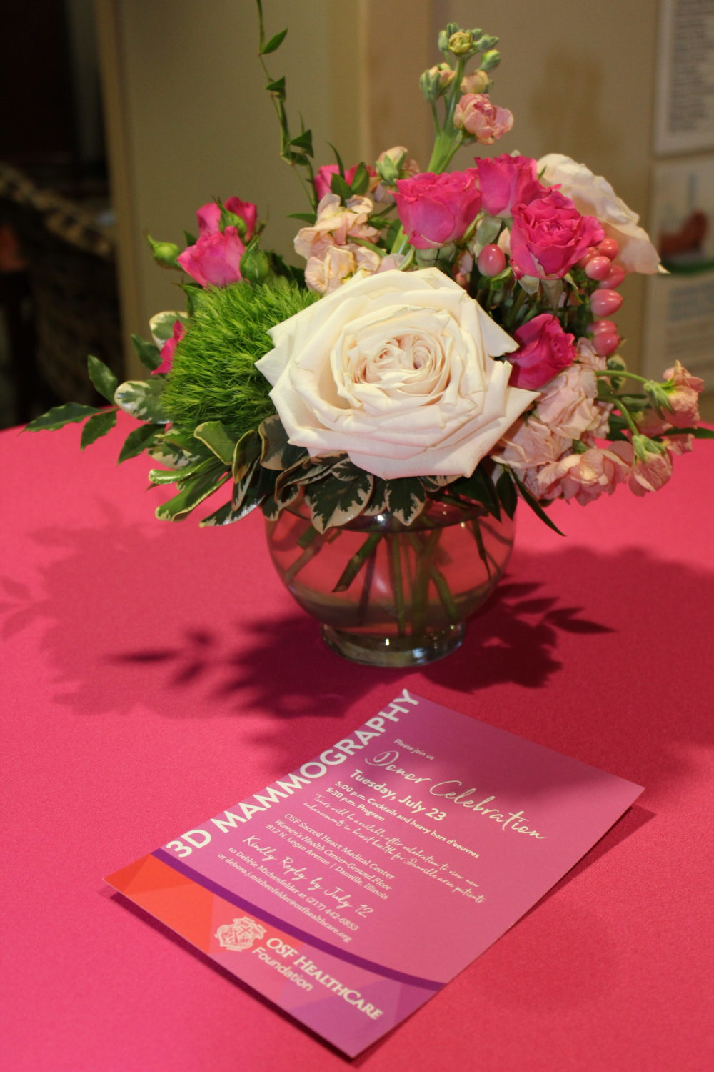 3D Mammography Donor Celebration 1