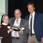 Dr. Pearl, Tom Hammerton and Sister Judith Ann