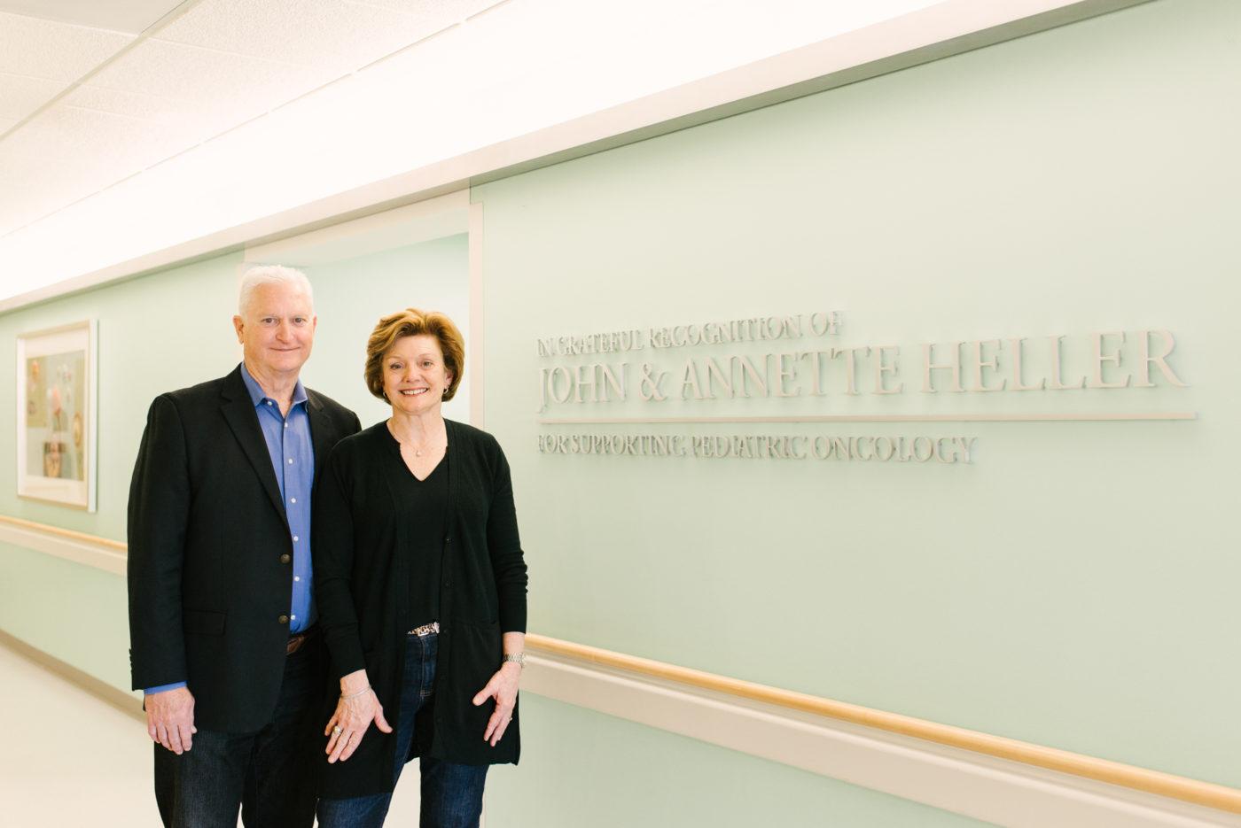 John and Annette Heller