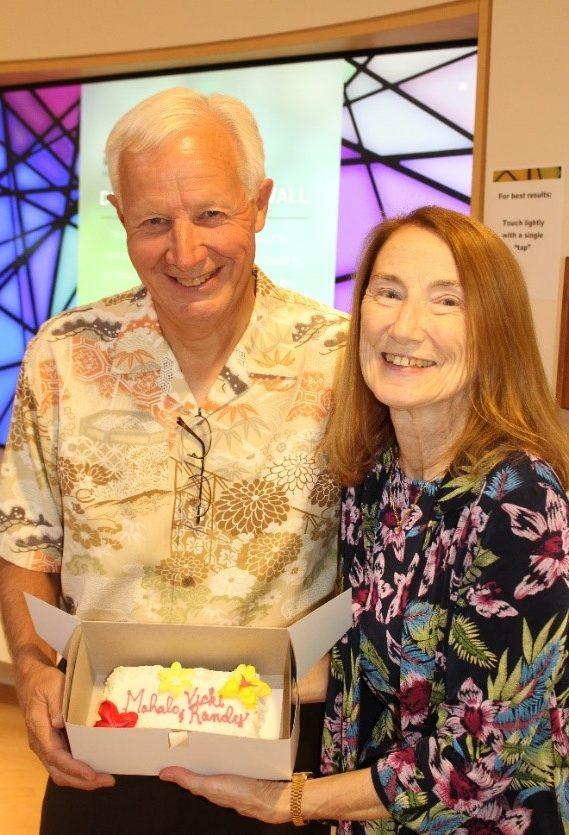 Vicki and Randy Bahr