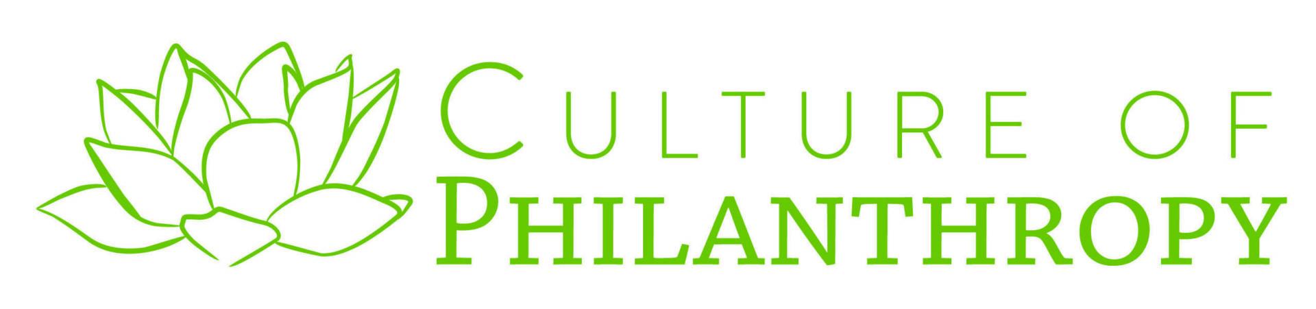 Culture of Philanthropy Logo