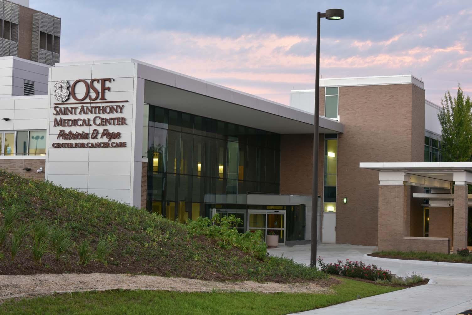 OSF HealthCare Saint Anthony Medical Center Exterior