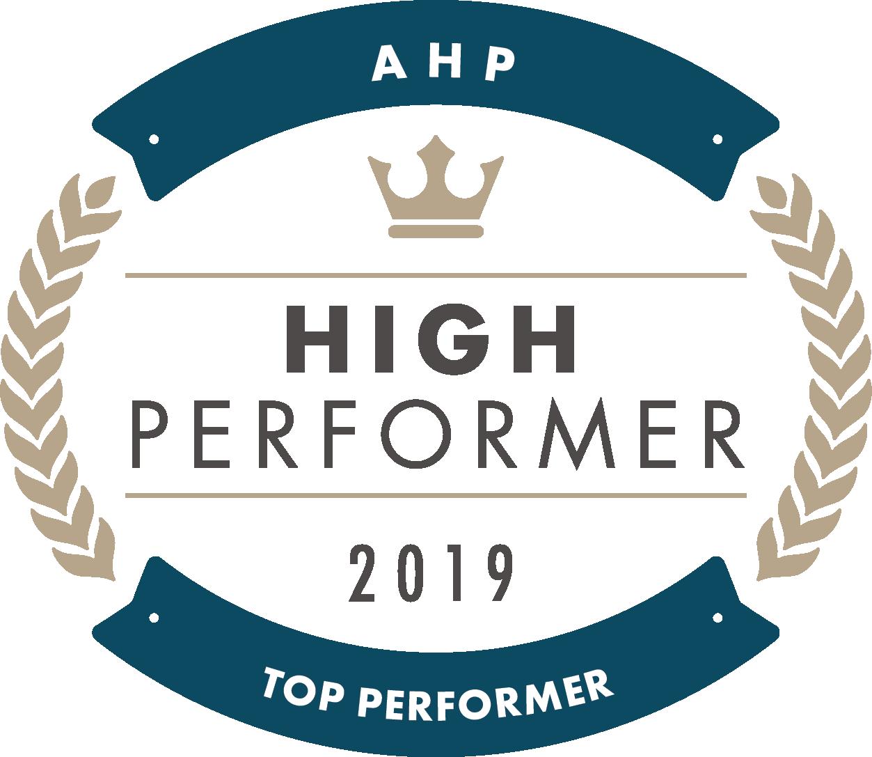 AHP High Performer 2019
