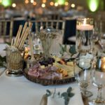 Table setting and appetizer