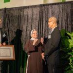 Dr. Labayog, Tom Hammerton and Sister Judith Ann