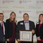 Dr. Vozenilek, Erin Peterson and Innovation Staff
