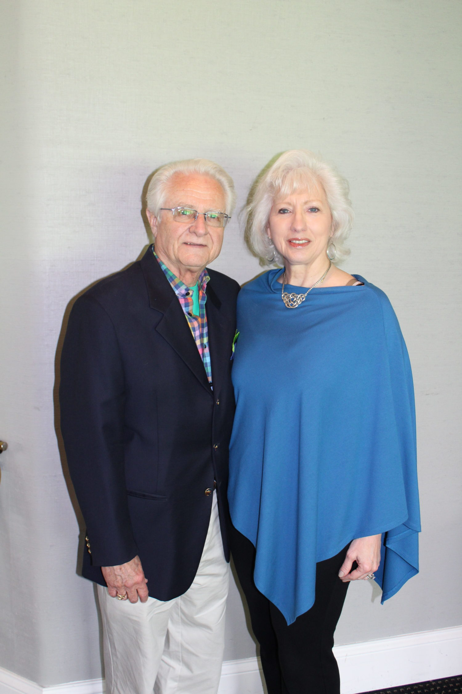 Former SMMC President & CEO Dick Kowalski and Doris Kowalski