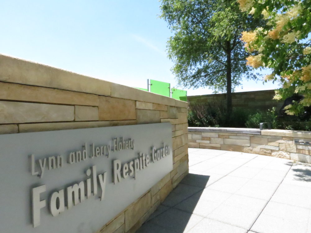 Family Respite Garden signage