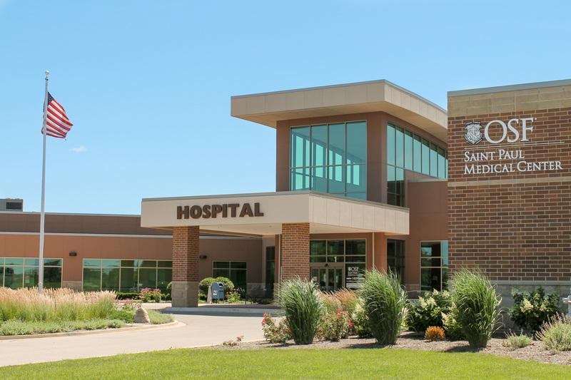 OSF HealthCare Saint Paul Medical Center Exterior