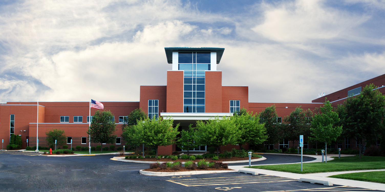 OSF HealthCare Saint Luke Medical Center Exterior