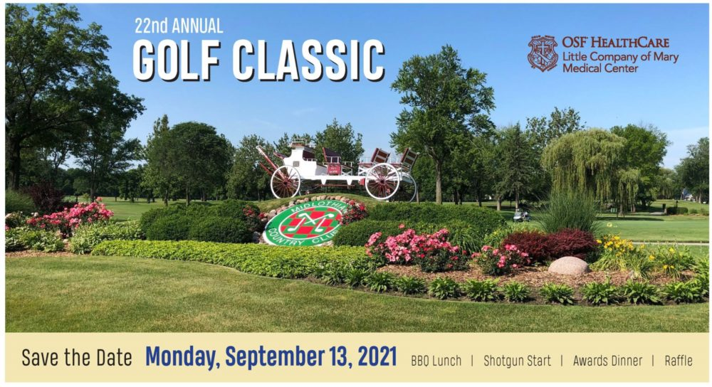 Little Company of Mary Golf Classic Save the Date