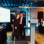 Sister Judith Ann and Dr. Shah
